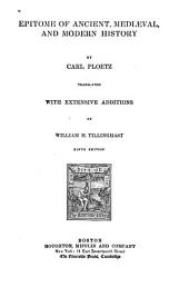 Epitome of Ancient, Mediaeval and Modern History: Volume 2