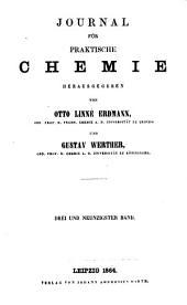 Journal für praktische Chemie: Bände 93-94