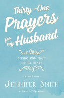 Thirty One Prayers for My Husband Book