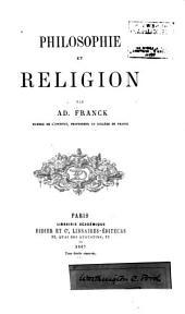 Philosophie et religion