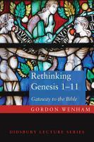 Rethinking Genesis 1 11 PDF