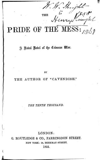 The Pride of the Mess PDF