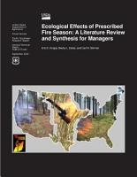 Ecological Effects of Prescribed Fire Season PDF