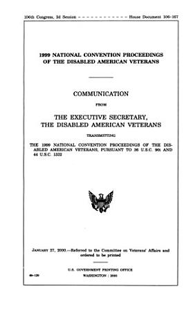 Disabled American Veterans     National Convention PDF