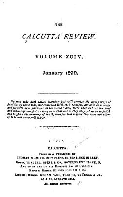 Calcutta Review PDF