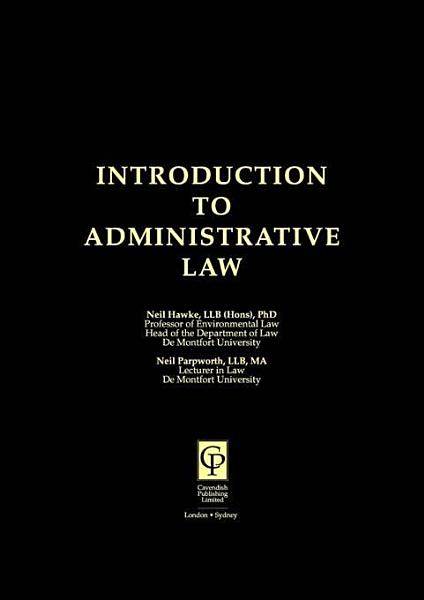 Introduction to Administrative Law PDF