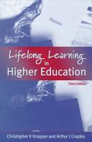Lifelong Learning in Higher Education PDF