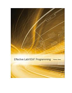 Effective LabVIEW Programming Book