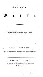 Goethe's Werke: Bände 13-14