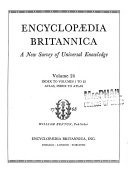 Encyclopaedia Britannica, a New Survey of Universal Knowledge