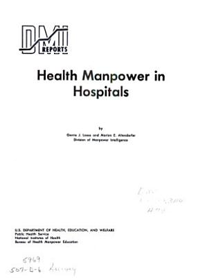 Health Manpower in Hospitals PDF