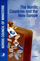 The Nordic Countries and the New Europe PDF