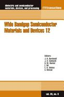 Wide Bandgap Semiconductor Materials and Devices 12 PDF