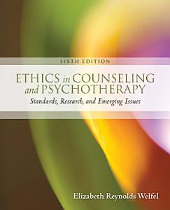 Ethics in Counseling   Psychotherapy Book