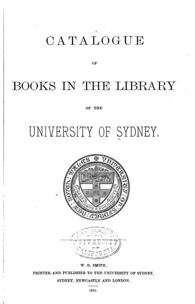 Download Catalogue of Books in the Library Book