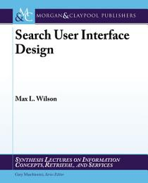 Search-User Interface Design