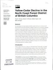 Yellow-cedar decline in the North Coast Forest District of British Columbia
