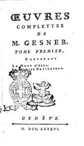Oeures Complettes de M. Gesner