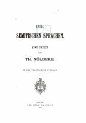Die semitischen Sprachen: eine Skizze