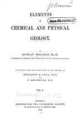 Elements of Chemical and Physical Geology: Volume 1
