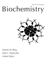 Biochemistry: Edition 7