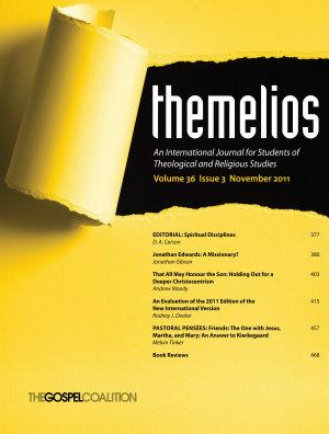 Themelios  Volume 36  Issue 3