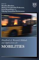 Handbook of Research Methods and Applications for Mobilities PDF