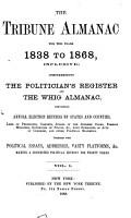 The Tribune Almanac for the Years L838 to L868  Inclusive PDF