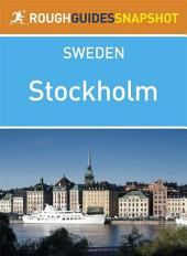 Stockholm Rough Guides Snapshot Sweden