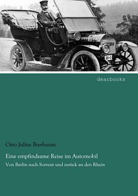 Eine empfindsame Reise im Automobil PDF