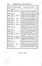 Correspondance de Napoléon Ier, 7: publiée par ordre de l'empereur Napoléon III, Volume8