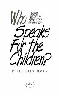 Who Speaks for the Children  PDF