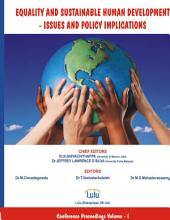 Equality and Sustainable Human Development   Issues and Policy Implications PDF