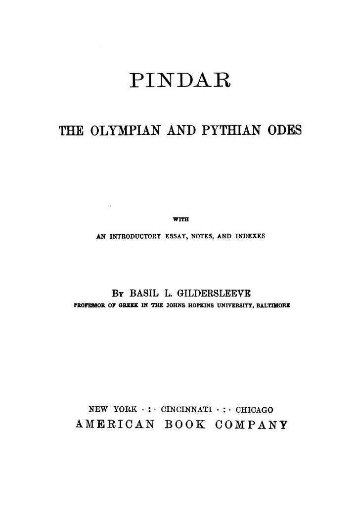 Pindar