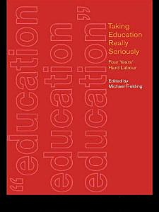 Taking Education Really Seriously PDF
