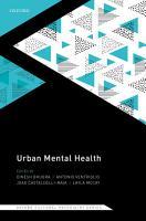 Urban Mental Health PDF