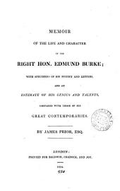 Memoir of the life and character of ... Edmund Burke; with specimens of his poetry and letters