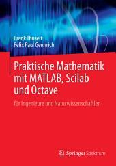 Praktische Mathematik mit MATLAB, Scilab und Octave: für Ingenieure und Naturwissenschaftler