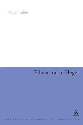 Education In Hegel