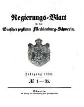 Regierungsblatt für Mecklenburg-Schwerin