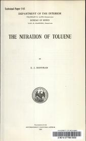 The nitration of toluene