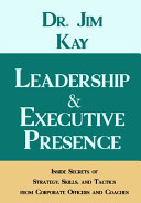 Leadership   Executive Presence Book