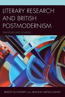 Literary Research and British Postmodernism PDF