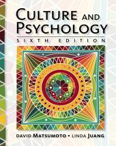 Culture and Psychology: Edition 6