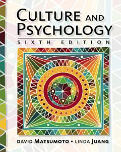 Culture and Psychology Book