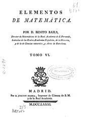 Elementos de matemáticas ...: Volumen 6