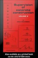 Supervision of Concrete Construction 2 PDF