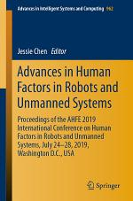 Advances in Human Factors in Robots and Unmanned Systems