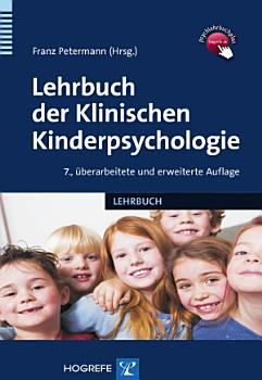 Lehrbuch der Klinischen Kinderpsychologie PDF