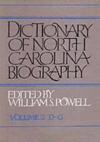 Dictionary of North Carolina Biography PDF